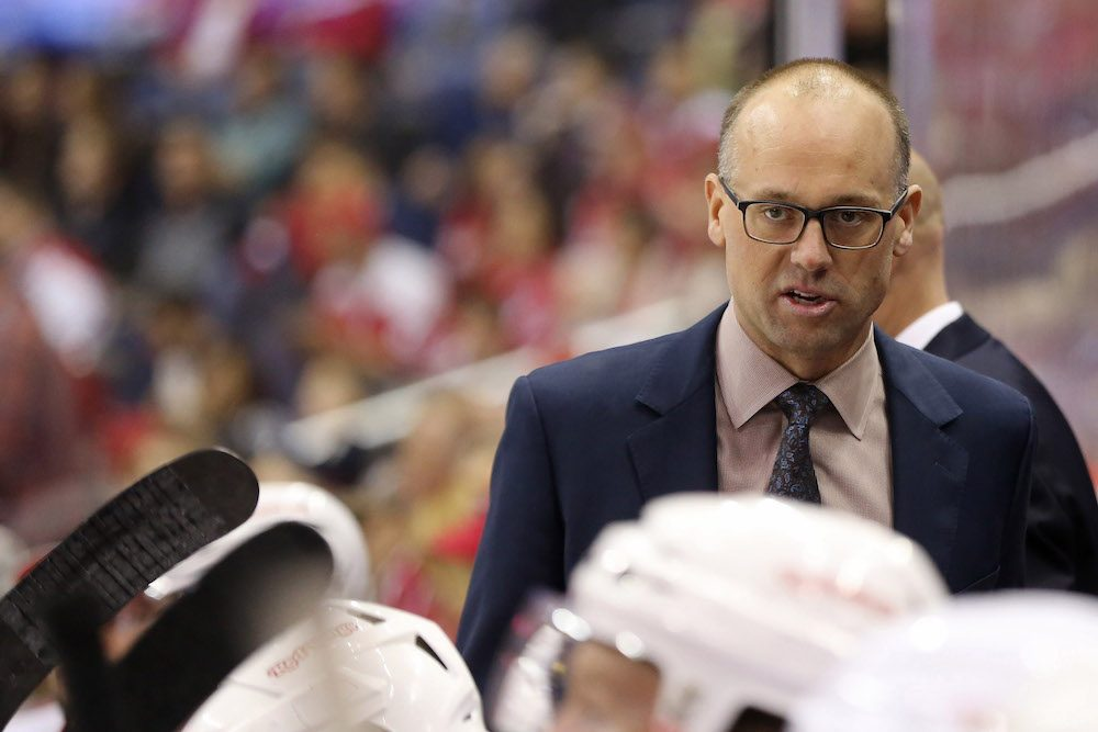 Red Wings coach Jeff Blashill discusses offseason additions to roster