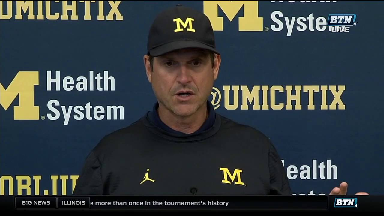 Michigan's Jim Harbaugh ranked near top of best collegiate coaches who were former players | Detroit Sports Nation