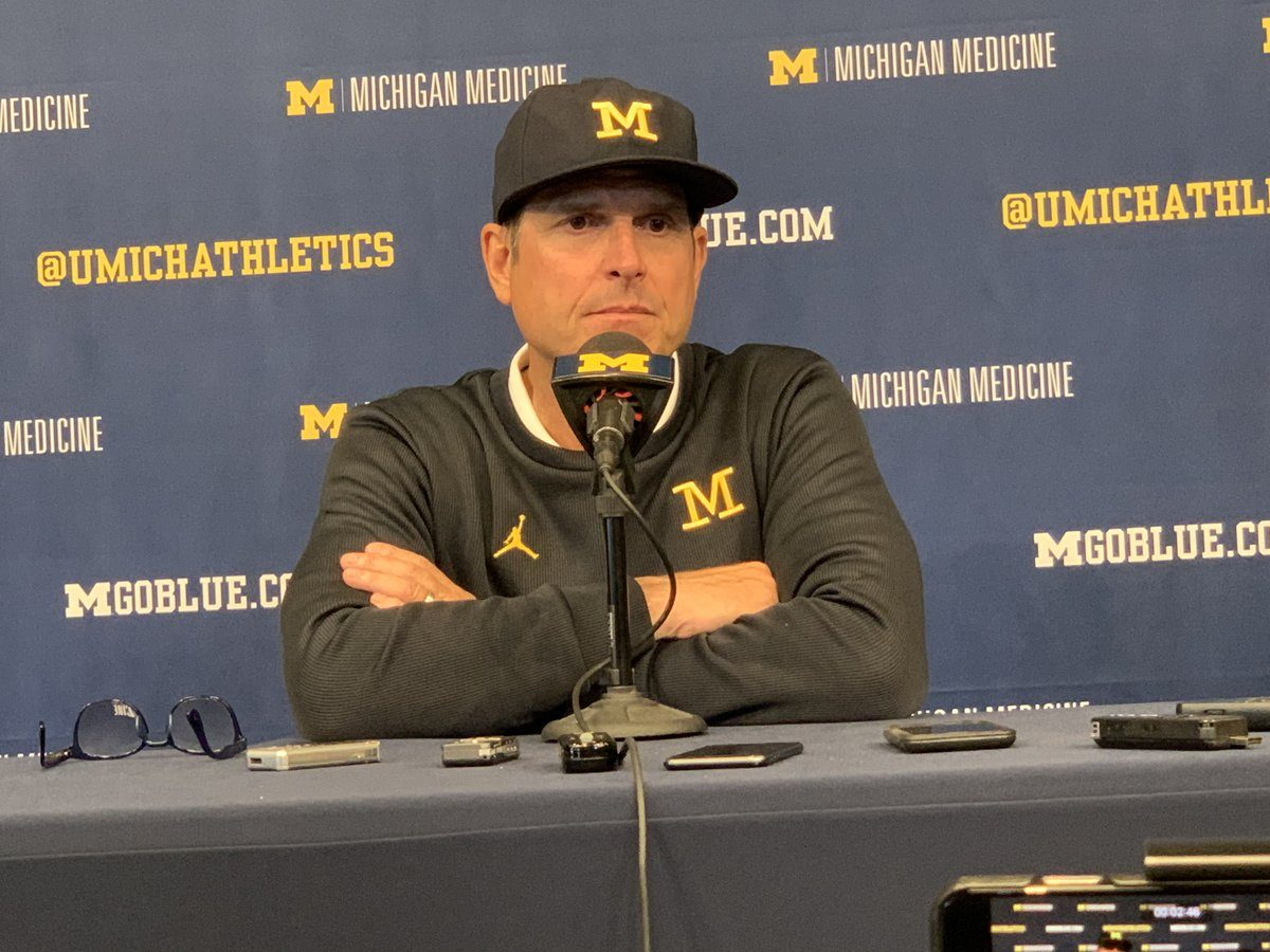 Jim Harbaugh responds to 97.1 The Ticket host Rico Beard's accusations