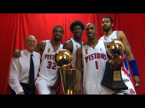 """Trio of """"Going to Work"""" Detroit Pistons included on 2020 NBA HOF eligible candidates"""