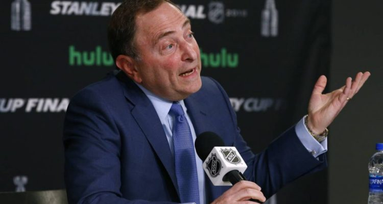 """NHL Commissioner Gary Bettman pushes back on """"inaccurate"""" reports"""