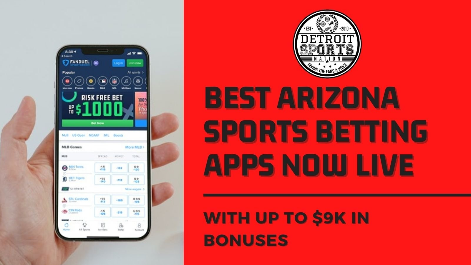 5 Best Arizona Betting Apps You Can Download Now